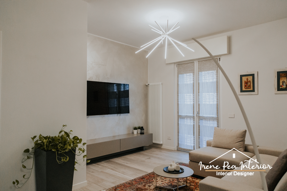 appartamento bilocale: ristrutturazione completa